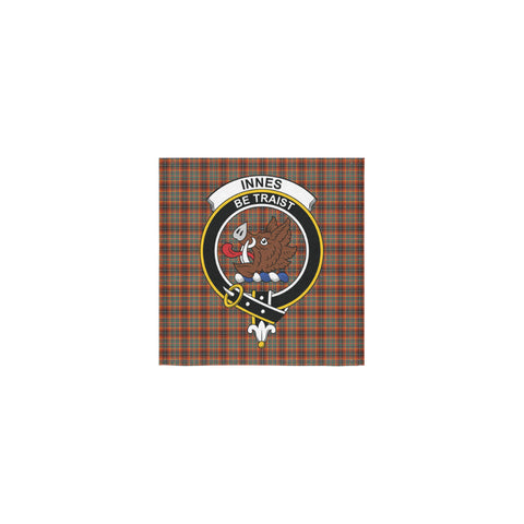Image of Innes Ancient Tartan Towel Clan Badge | 1sttheworld.com