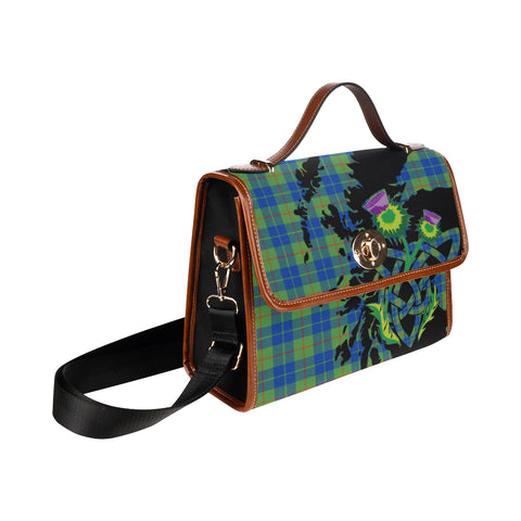 Image of Barclay Hunting Ancient Thistle Canvas Handbags | Waterproof Bags | 1sttheworld