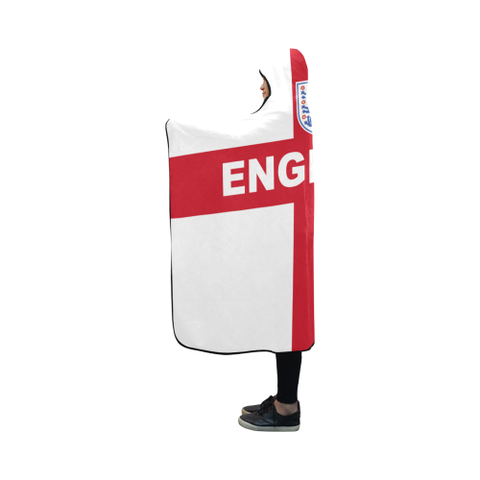England World Cup Hooded Blanket - Bn03 | Love The World