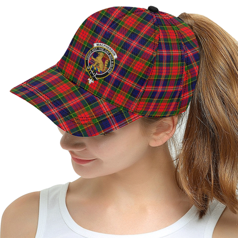 Image of Macpherson Modern Tartan Hat - All Over Print Snapback Hat | 1sttheworld.com