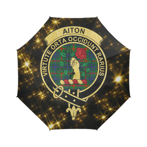 Aiton Tartan Umbrella Golden Star TH8