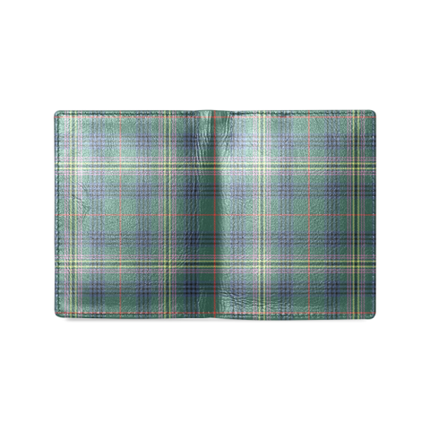 Kennedy Modern Tartan Wallet | Leather wallet for men | 1sttheworld