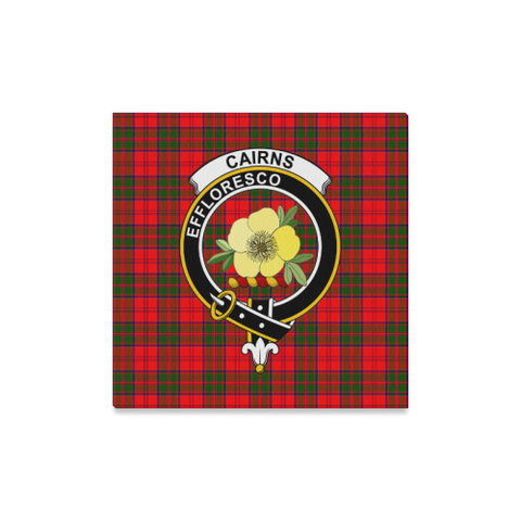 Tartan Canvas Print - Cairns Clan | Over 300 Scottish Clans and 500 Tartans