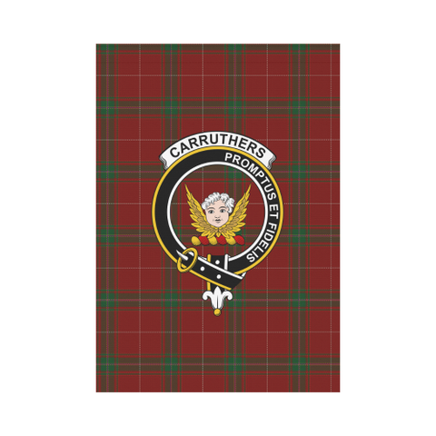 Image of Carruthers Tartan Flag Clan Badge K9 |Home Decor| 1sttheworld