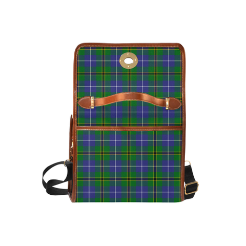 Turnbull Hunting Tartan Plaid Canvas Bag | Online Shopping Scottish Tartans Plaid Handbags
