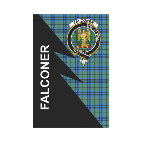 "Image of Falconer Tartan Garden Flag - Flash Style 12"" x 18"""