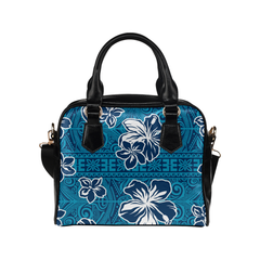 Hawaiian Handbag Hawaii Polynesian Hibiscus Men/Women Accessories 02 H9