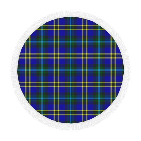 WEIR MODERN TARTAN BEACH BLANKET th8