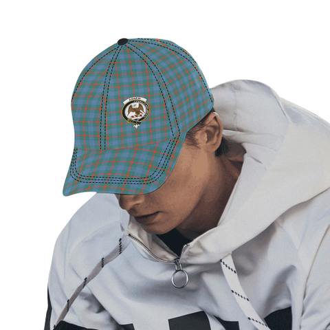 Image of Agnew Ancient Clan Badge Tartan Dad Cap - BN03