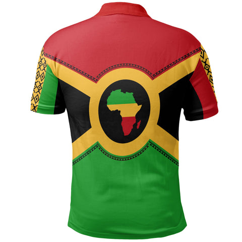 Image of African Reggae Polo Shirt