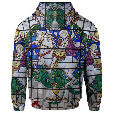 1sttheworld Hoodies - Duel of St. Georeg with the Devil in Joriskerk - BN17