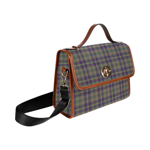 Taylor Weathered Tartan Plaid Canvas Bag | Online Shopping Scottish Tartans Plaid Handbags