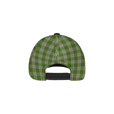 Cunningham Dress Green Dancers Clan Badge Tartan Dad Cap - BN03