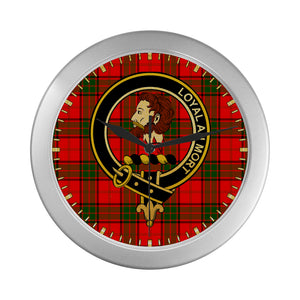 ADAIR CLAN TARTAN WALL CLOCK A9