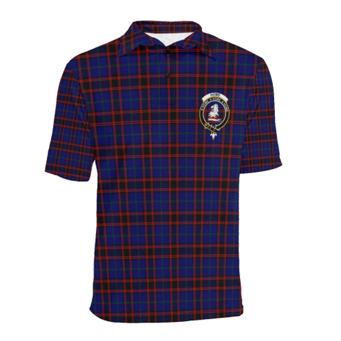 Home Modern Tartan Clan Badge Polo Shirt HJ4
