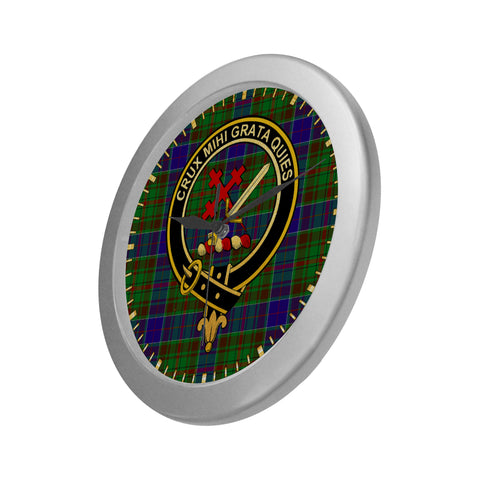 ADAM CLAN TARTAN WALL CLOCK A9