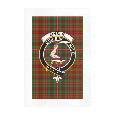 Image of Ainslie Clan Tartan Art Print A9