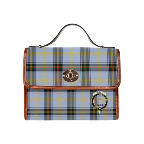 Tartan Canvas Bag - Bell Clan | Waterproof Bag | Scottish Bag