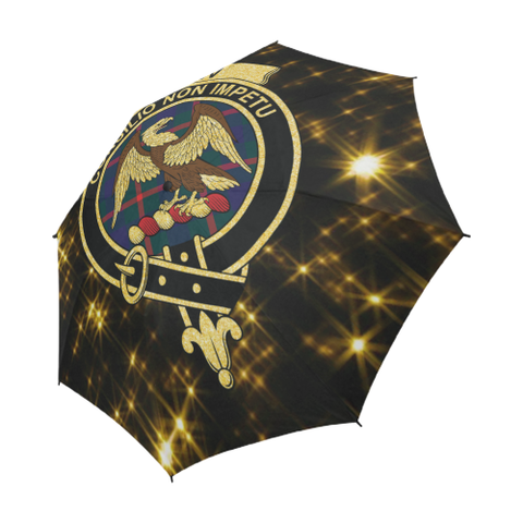 Agnew Tartan Umbrella Golden Star