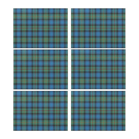 SMITH ANCIENT TARTAN PLACEMAT 14 Inch x 19 Inch (Six Pieces) M