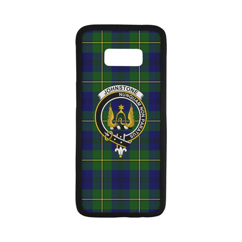 Johnstone Tartan Clan Badge Rubber Phone Case HJ4