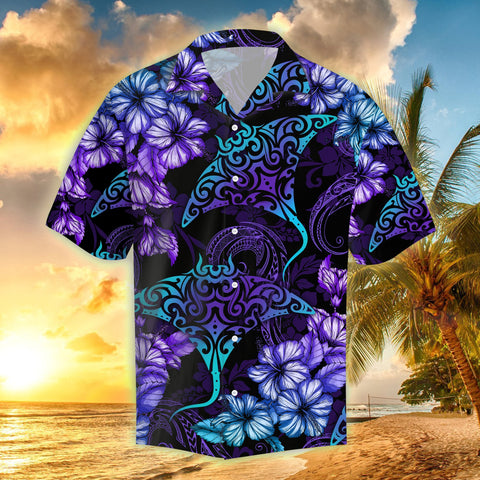 Image of Hawaii Sleeve Shirt, Rays Hibiscus Tropical | Love The World