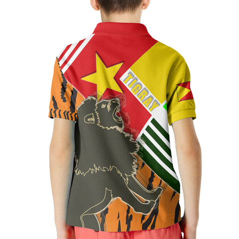 Image of 1sttheworld Tigray Polo Shirt Kids - Tigray Pride - BN21