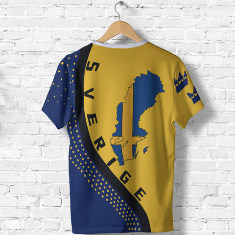 Sweden Map T-Shirt Generation II K6