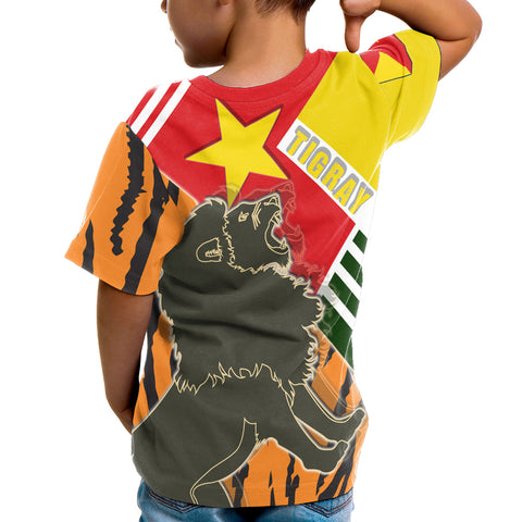 Image of 1sttheworld Tigray T-Shirt Kid - Tigray Pride - BN21