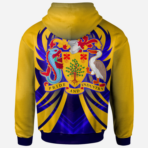 Image of Barbados Hoodie - Line Version