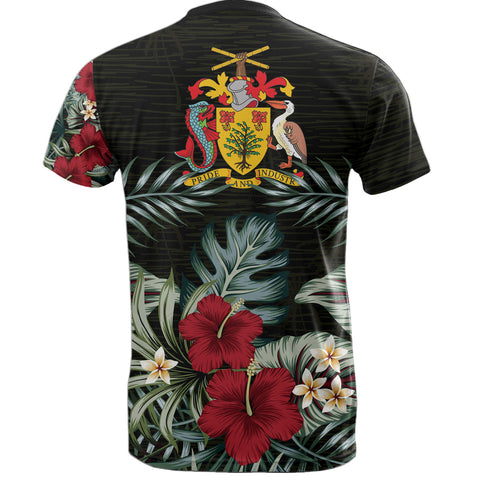 Barbados Hibiscus T-Shirt A7