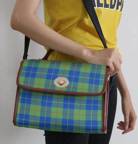 Tartan Bag - Barclay Hunting Ancient Canvas Handbag A9