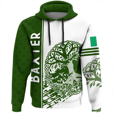 Baxter Irish Celtic Cross Custom Hoodie