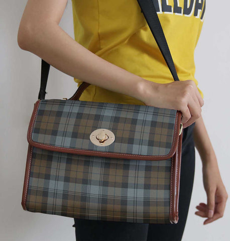 Image of Tartan Bag - Blackwatch Weathered Canvas Handbag A9