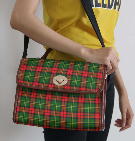 Image of Tartan Bag - Blackstock Canvas Handbag A9