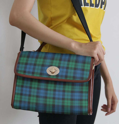 Tartan Bag - Blackwatch Ancient Canvas Handbag A9