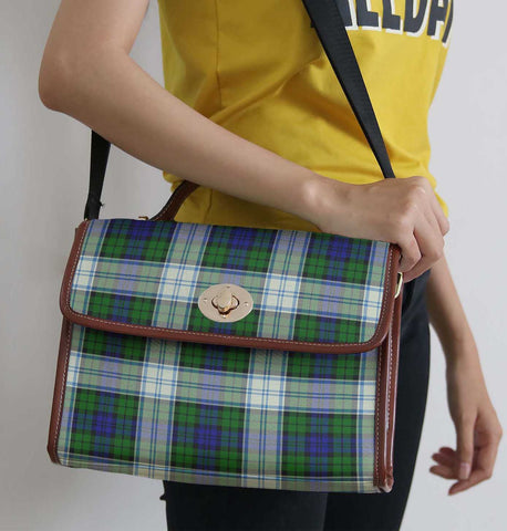 Image of Tartan Bag - Blackwatch Dress Modern Canvas Handbag A9