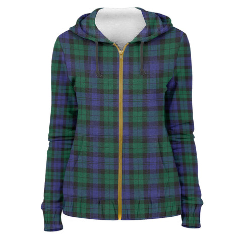 Tartan Zip Hoodie -Blackwatch Modern | Men & Women | Clothing