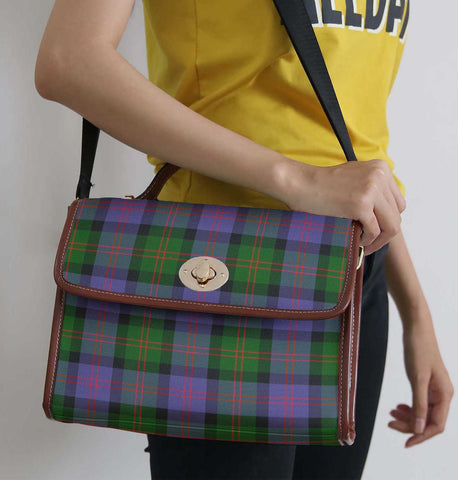Image of Tartan Bag - Blair Modern Canvas Handbag A9