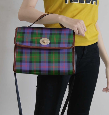 Image of Blair Modern Tartan Canvas Bag | Waterproof Bag | Scottish Bag