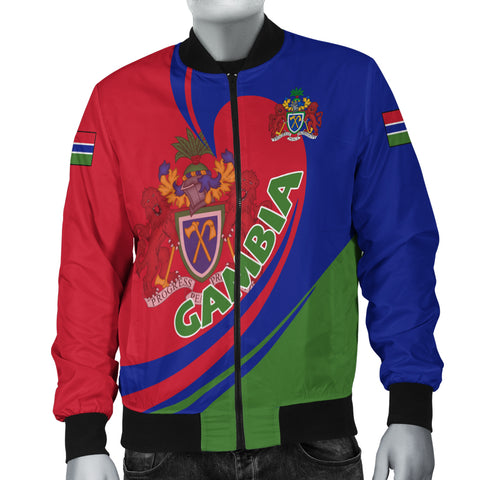 Image of Gambia Bomber Jacket Lattar A15