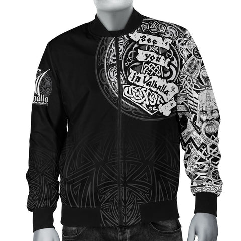Viking Bomber Jacket - See You In Valhalla A31