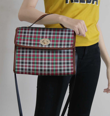 Borthwick Ancient Tartan Canvas Bag | Waterproof Bag | Scottish Bag