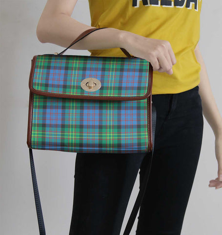 Image of Bowie Ancient Tartan Canvas Bag | Waterproof Bag | Scottish Bag