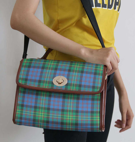 Image of Tartan Bag - Bowie Ancient Canvas Handbag A9