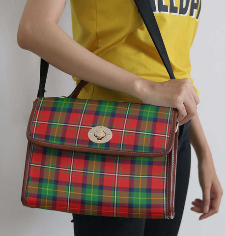 Image of Tartan Bag - Boyd Modern Canvas Handbag A9