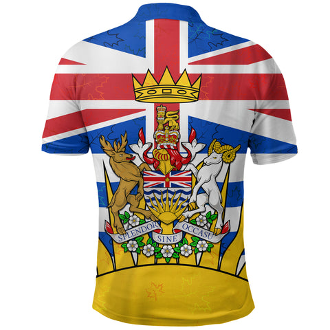 Canada British Columbia Polo Shirt | Clothing | 1sttheworld