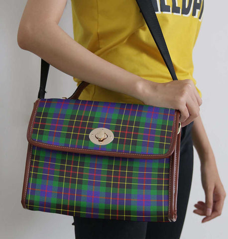 Tartan Bag - Brodie Hunting Modern Canvas Handbag A9