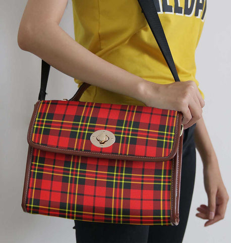 Tartan Bag - Brodie Modern Canvas Handbag A9