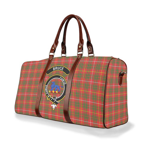 Tartan Travel Bag - Bruce Clan | Scottish Travel bag | 1sttheworld